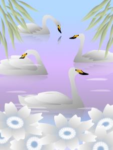 白鳥(完成)展示用